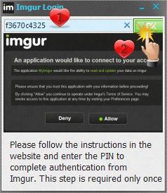 شرح استخدام البرنامج لرفع الصور موقع imgur
