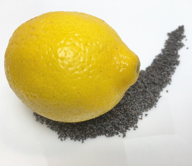 Fresh Lemon and Poppy Seeds