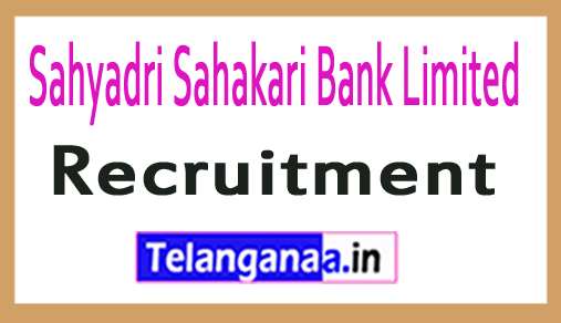 Sahyadri Sahakari Bank Limited SSBL Recruitment