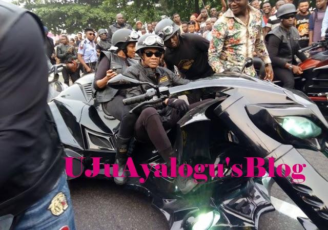 Donald Duke and Wife Cause Serious Stir at Calabar Festival (Photos)