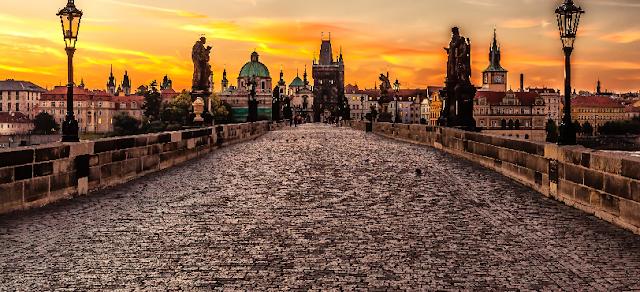 Verão na República Checa