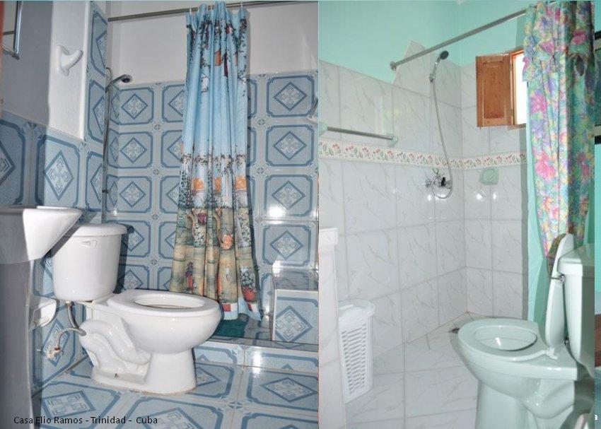 Casa Hostal Elio Ramos Bathroom Trinidad -  Cuba