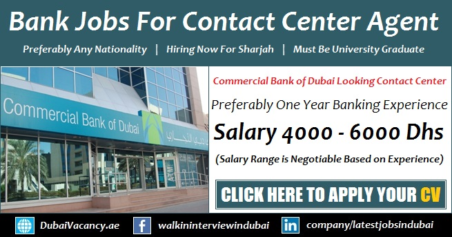 Banking Jobs in Dubai 2018