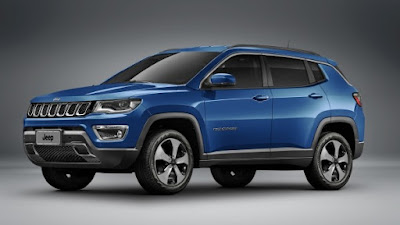 2017 Jeep Compass side look