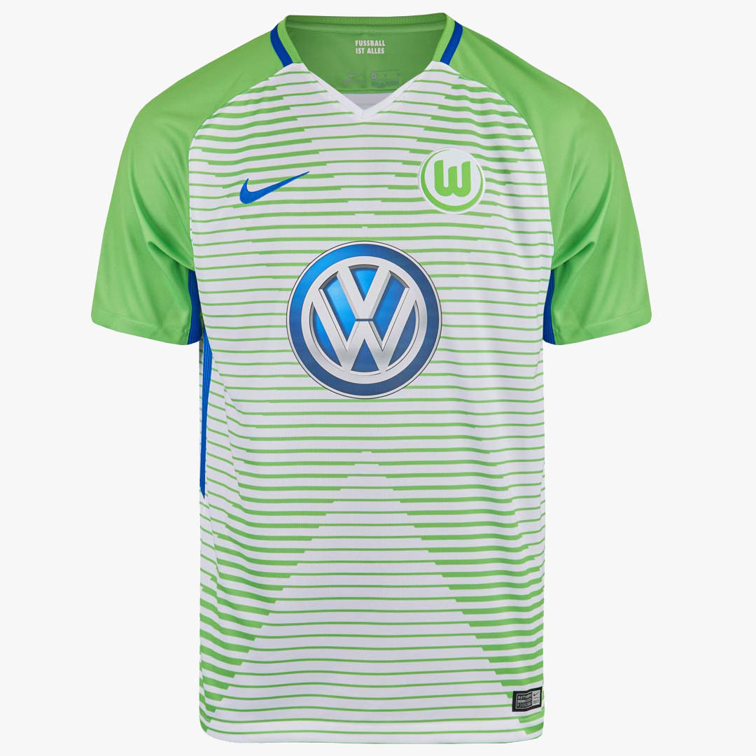 Nike Wolfsburg 17-18 Home, Away & Third Kits Released - Footy Headlines