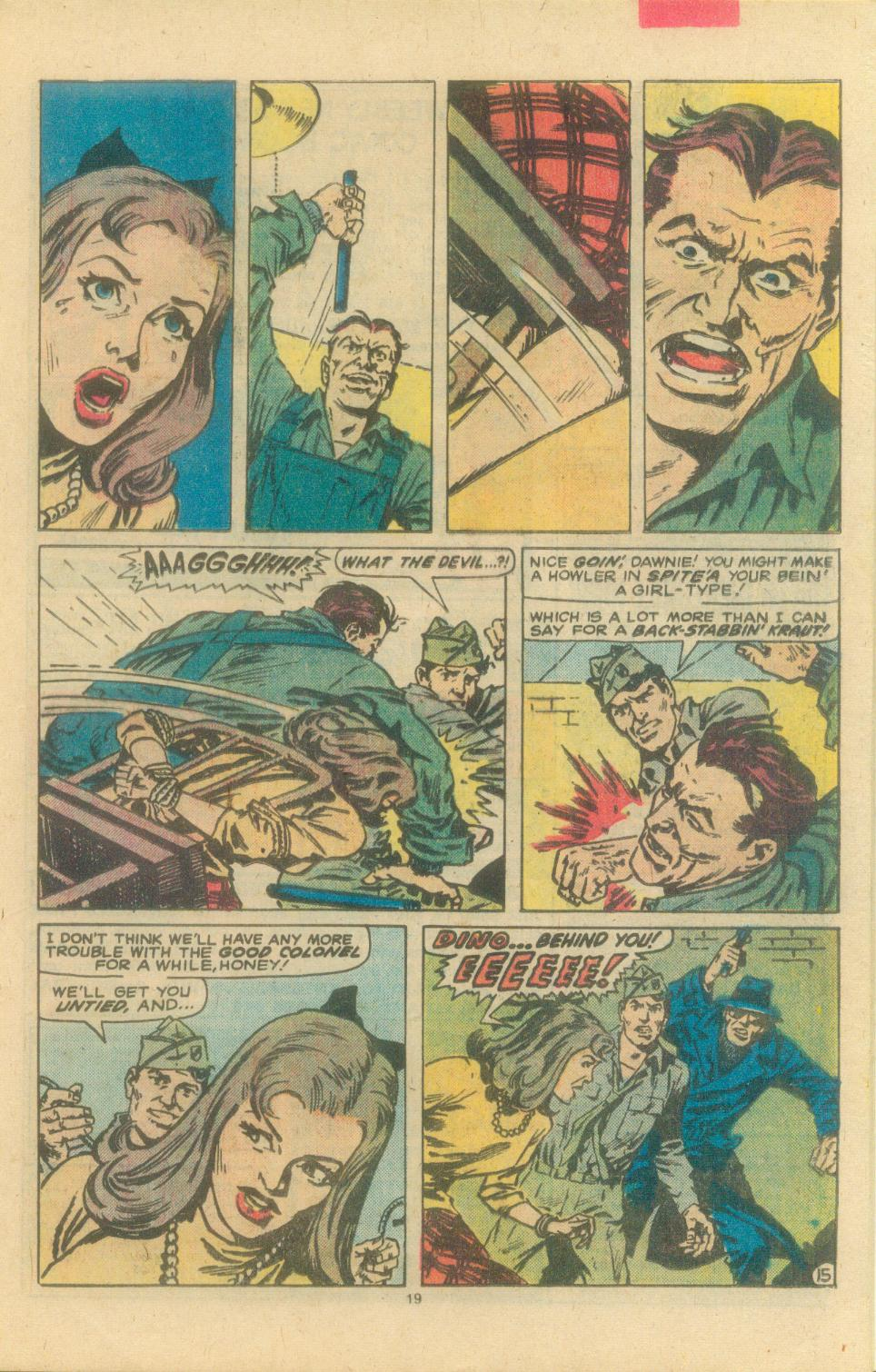 Read online Sgt. Fury comic -  Issue #163 - 21