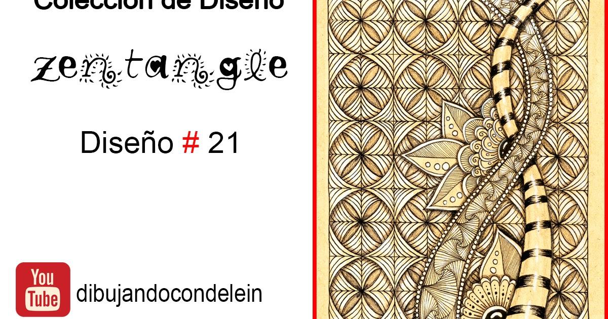 Dibujando Con Delein Como Dibujar Zentangle Art Paso A