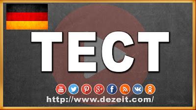 Немецкий язык тест уровень А1 Урок 6 - 10