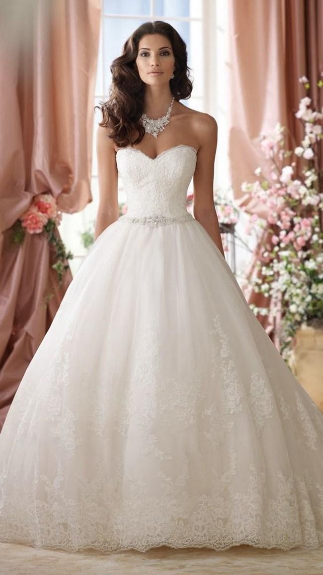 Vestidos de novia corte sirena para chaparritas