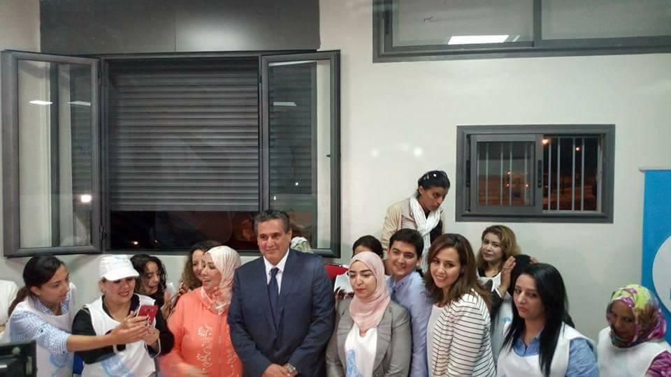 أخنوش وحاميد البهجة يدعمان مرشح حزب الحمامة بالإنتخابات البرلمانية الجزئية بإنزكان