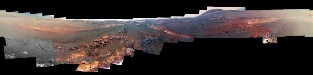 ultimo panorama de Marte - sonda Opportunity