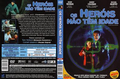 Os Heróis Não Tem Idade (Cloak And Dagger) DVD Capa