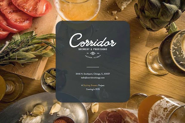 Corridor Brewery Amp Provisions Chicago Ill Beer Menu - 620×413