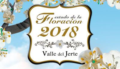 La Oficina de Turismo del Valle del Jerte comienza a actualizar el estado de floración 2018