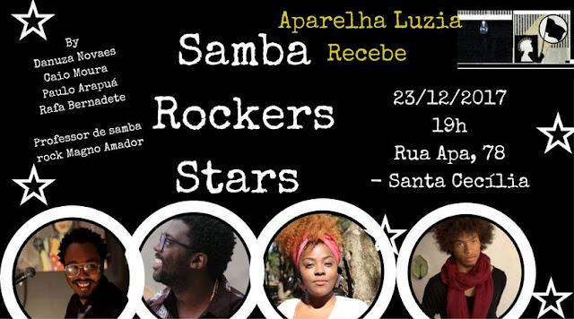 Caio Moura fecha o ano no Aparelha Luzia recebe Samba Rockers Stars