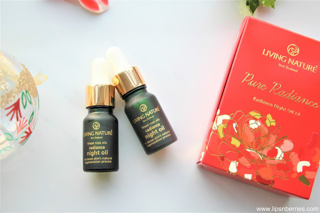 living nature radiance night oil review