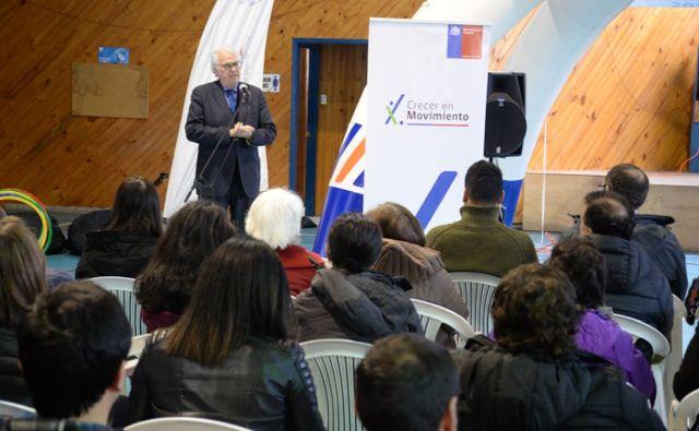 Organizaciones regionales recibieron implementación para talleres deportivos
