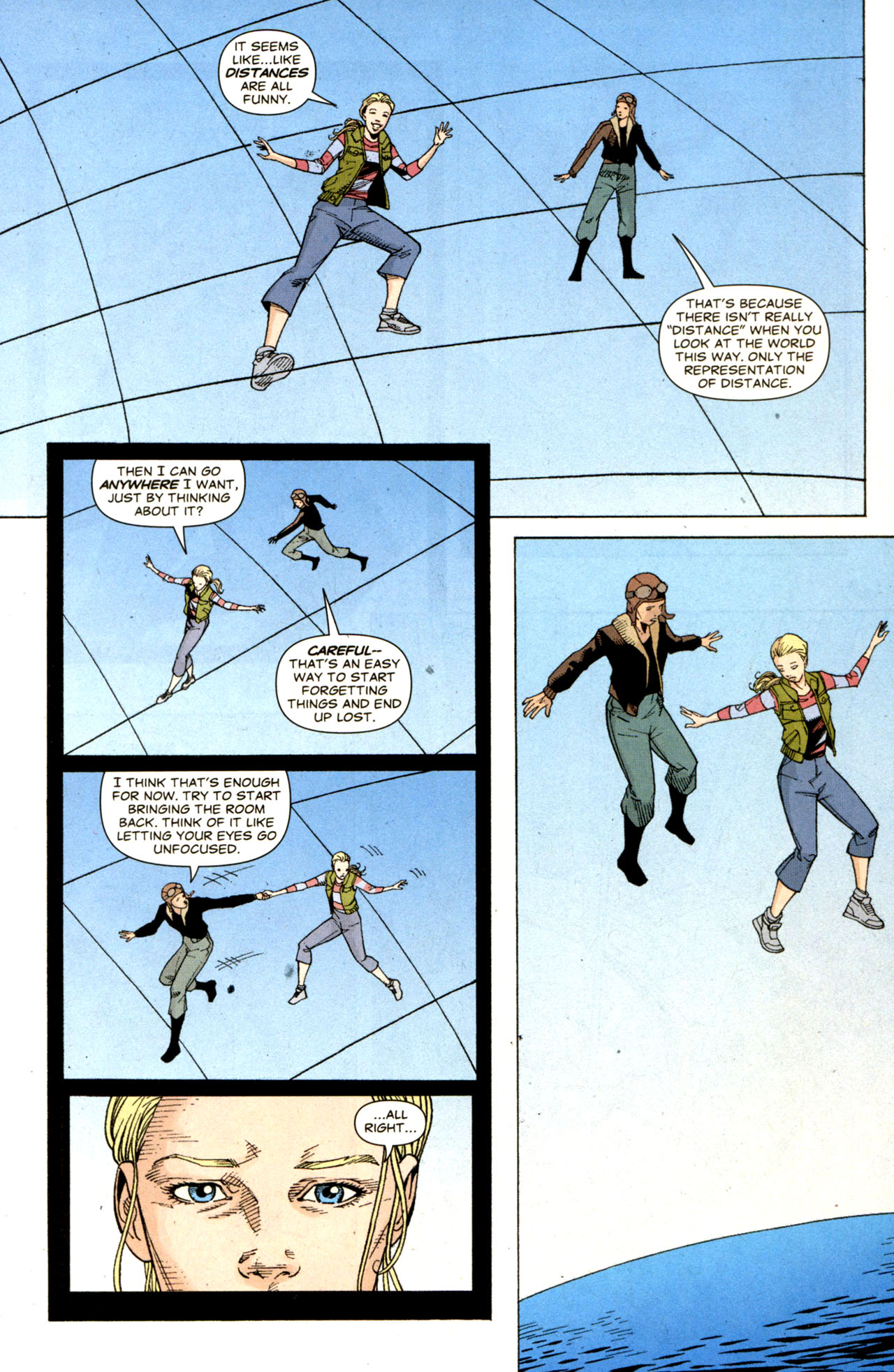 Read online Air comic -  Issue #6 - 16
