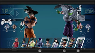NEW (MOD) JUMP FORCE V2 NARUTO IMPACT PARA CELULARES ANDROID (PPSSPP)