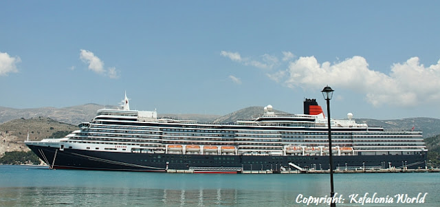 cruise ship, Argostoli Kefalonia