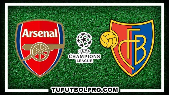 Ver Arsenal vs Basel EN VIVO Por Internet Hoy 28 de Septiembre 2016