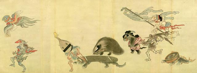 An example of Tsukumo god