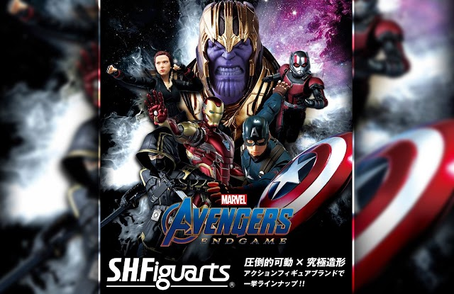 S.H. Figuarts Avengers: Endgame new set reveals and release date