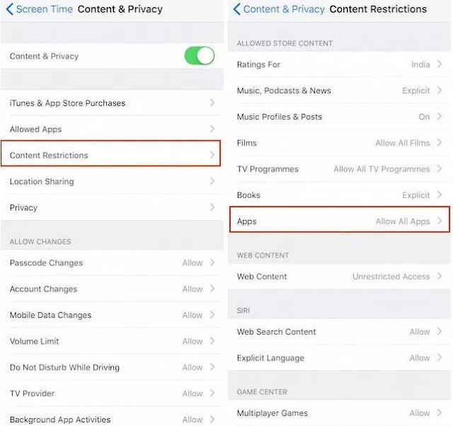 cara menyembunyikan aplikasi pihak ketiga di iPhone X