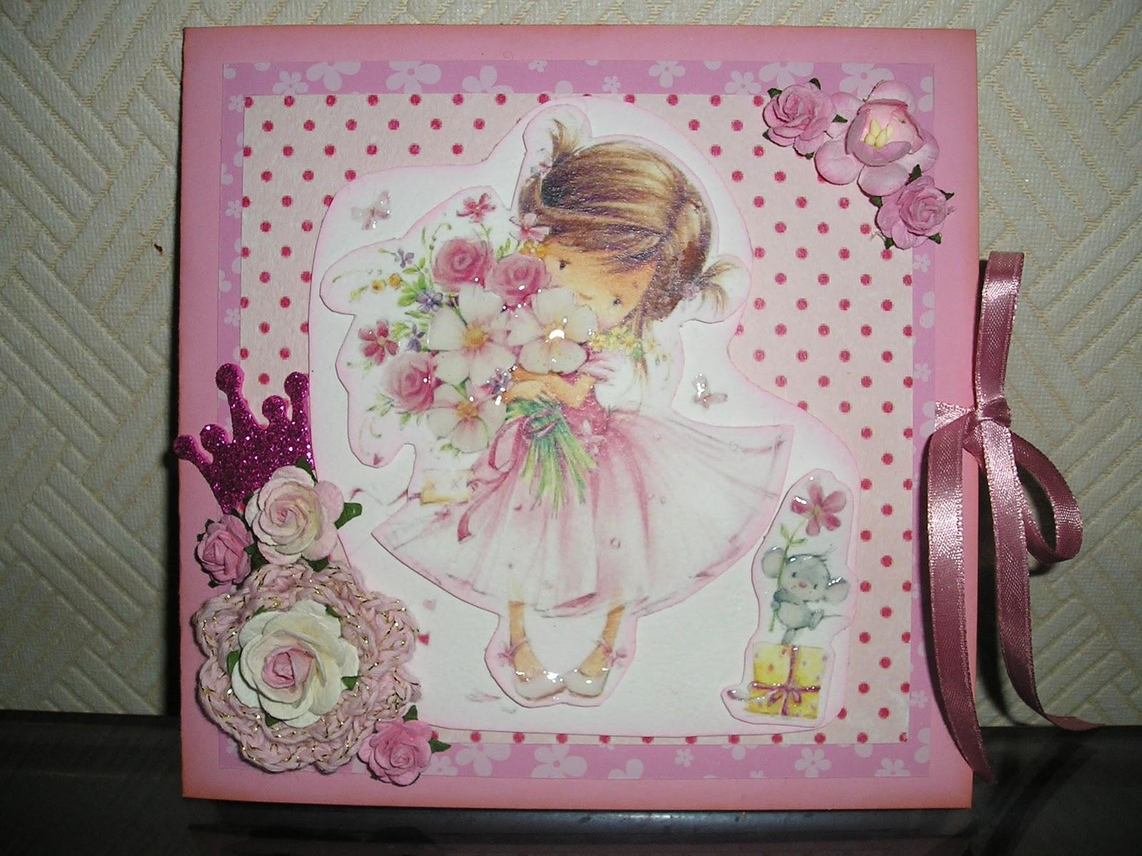 Открытки с днем рождения девочке 3 годика своими руками