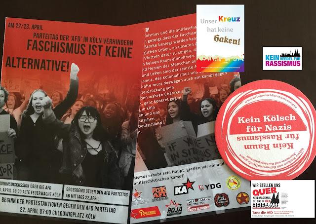 """AfD-Parteitag Köln: Wie Antisemiten, Kirchen und linksradikale Gewalttäter """"gegen rechts"""" kämpfen"""