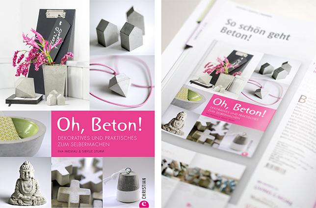 Ynas Design Blog, Oh, Beton! Buch
