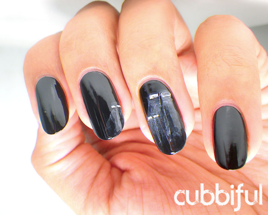 dark night nails