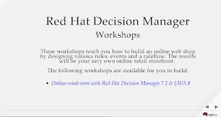 decision manager workshops