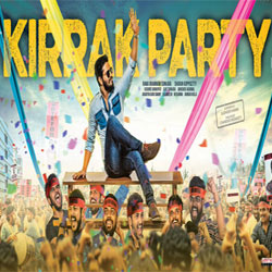 Kirrak Party (2017) Telugu Movie Audio CD Front Covers, Posters, Pictures, Pics, Images, Photos, Wallpapers