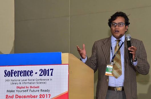 "Presented a paper on ""Webrarian: A Librarian on the Web"" at SoFerence-2017 organized by OLA and TCS"