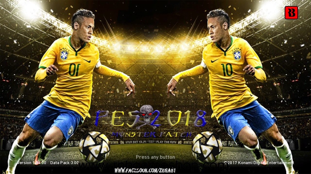 Download PES 2018 PS3 Monster Patch DLC 3 0 AIO Single Link