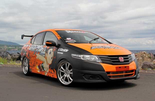 Hasil Garang Modifikasi Honda City Terbaru