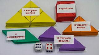 Resultado de imagem para jogo de subtração com tangram