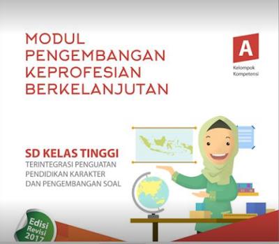 Modul PKB Kelas Atas Bagi Guru SD Tahun 2017-2018 File Pdf