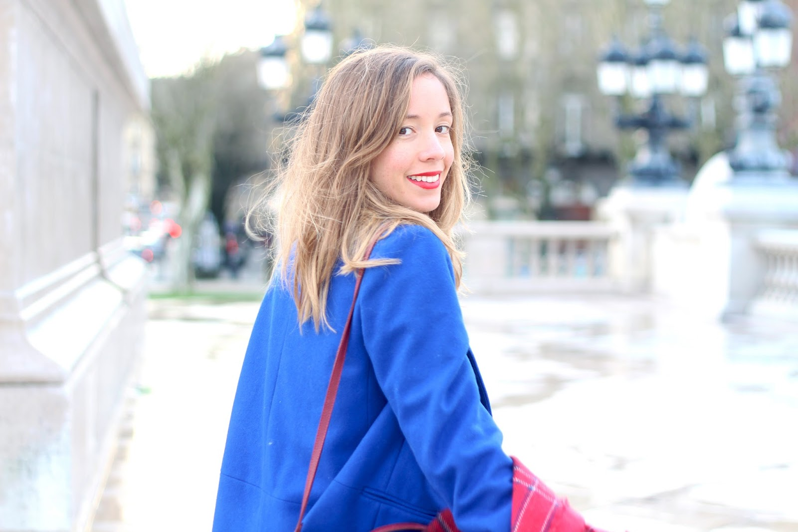 blog mode manteau bleu