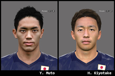 PES 2016 Japan Facepack by A.Mussoullini