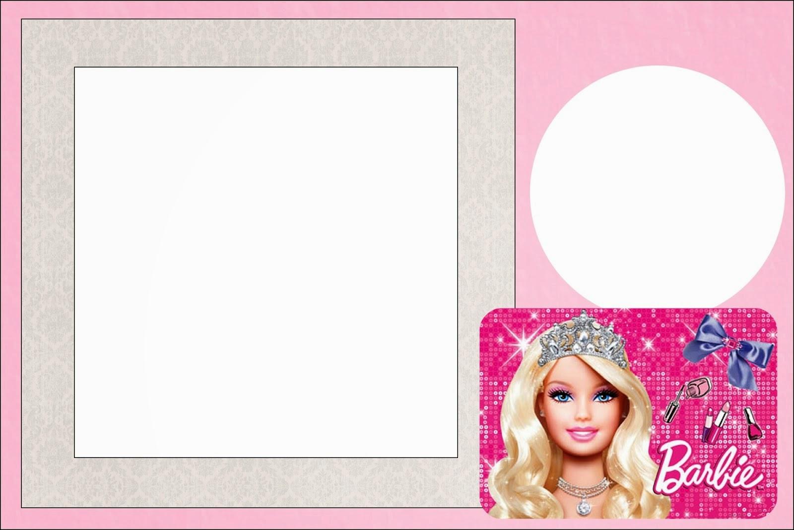 Free printable barbie invitations chatterzoom barbie birthday invitation templates jpg filmwisefo Gallery