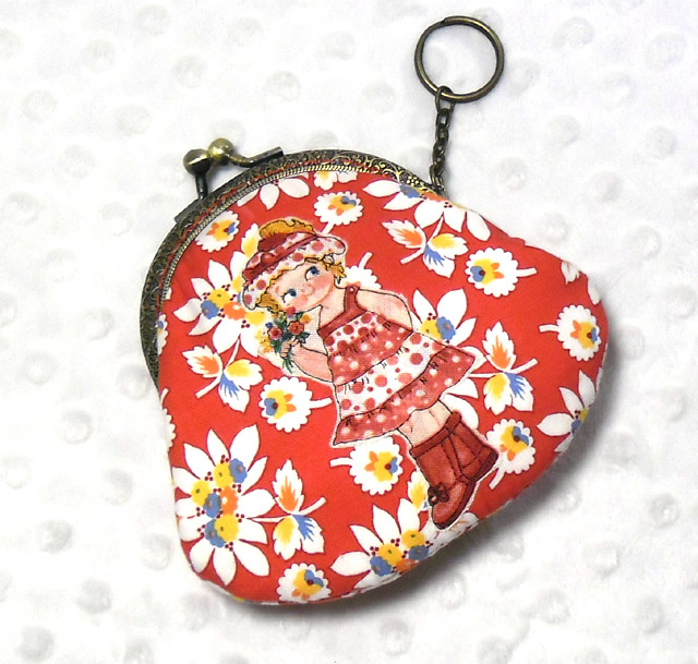 Metal Frame Coin Purse Tutorial  DIY in Pictures.
