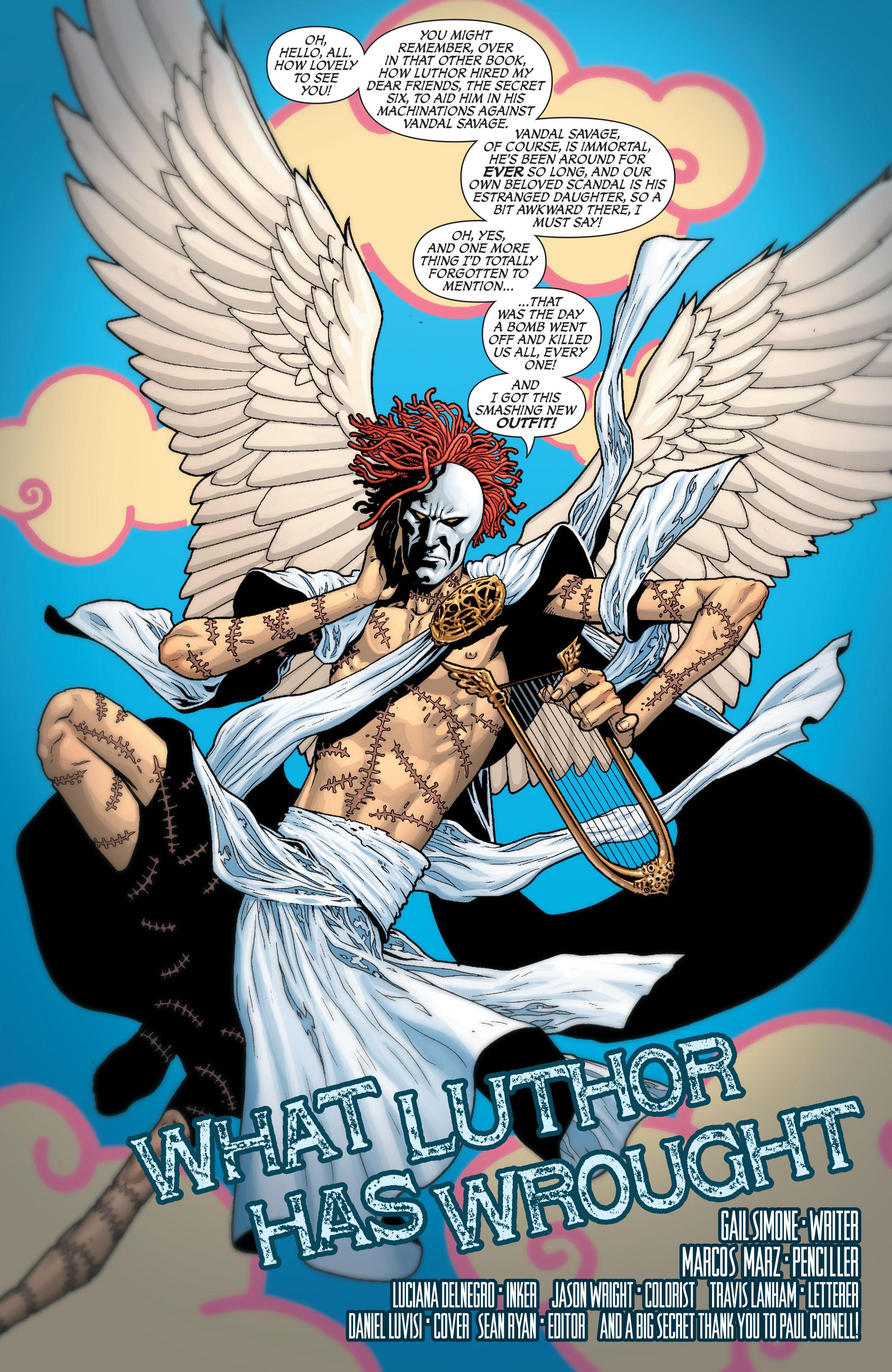 Read online Secret Six (2008) comic -  Issue #29 - 2