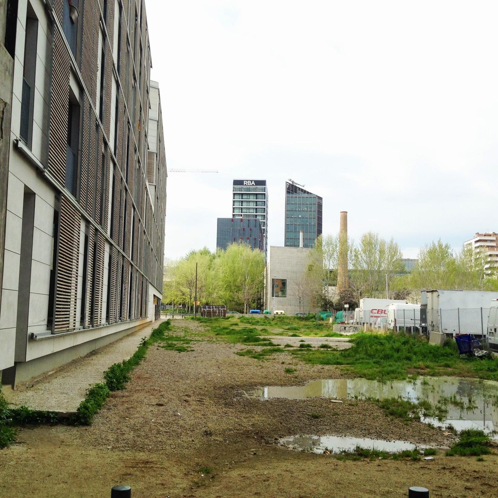 Imagen urbana del Poblenou