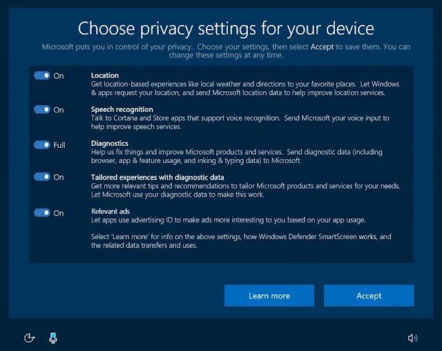 Privacy 2 1024x812 - Microsoft migliora la privacy dei propri sistemi ed introduce una nuova Privacy Dashboard