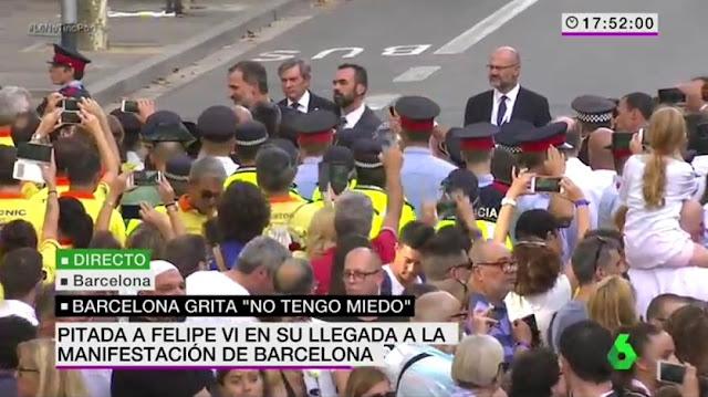 Llegada de Felipe VI