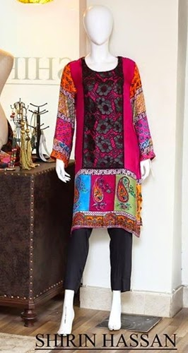 Shirin Hassan Winter Collection 2014-2015