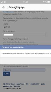 Cara Mengembalikan Akun Instagram yang Di banned