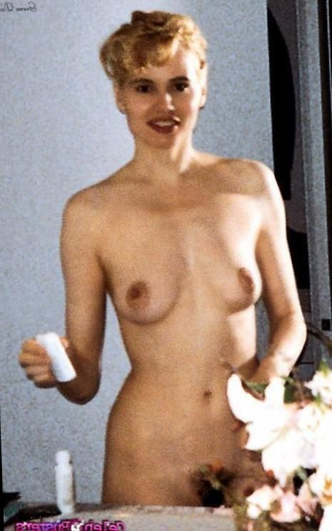 Naked woman birthday cake